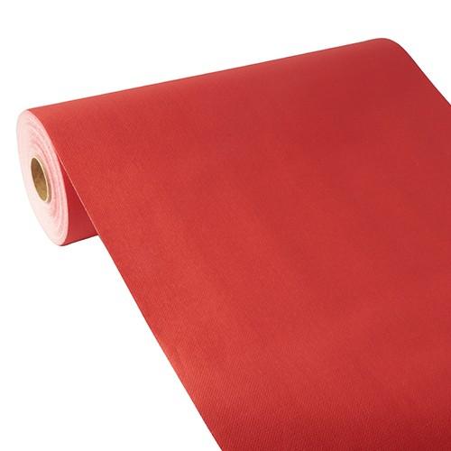 """Tischläufer, stoffähnlich, PV-Tissue Mix """"ROYAL Collection"""" 24 m x 40 cm rot"""
