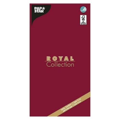"Tischdecke, Tissue ""ROYAL Collection"" 120 cm x 180 cm bordeaux"