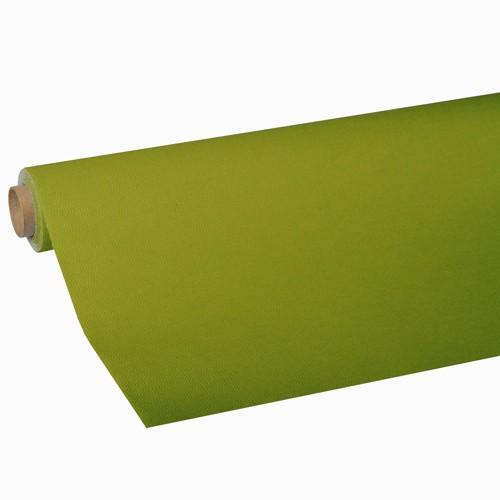 """Tischdecke, Tissue """"ROYAL Collection"""" 5 m x 1,18 m olivgrün"""