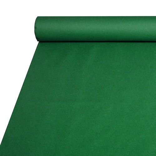 Tischdecke, stoffähnlich, Airlaid 20 m x 1,2 m dunkelgrün