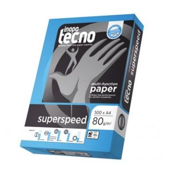 Laser-Papier inapa tecno superspeed, A3, 80 g/m², weiß, 500 Blatt