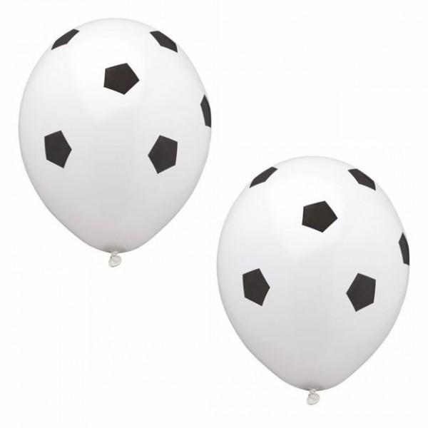 "8 Luftballons Ø 29 cm ""Soccer"""