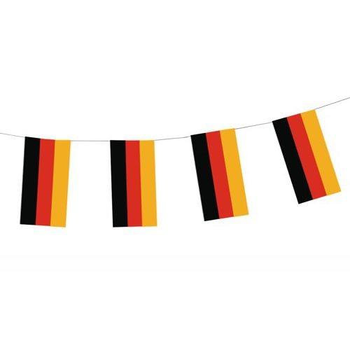"""Flaggenkette, Papier 4 m """"Deutschland"""" schwer entflammbar"""