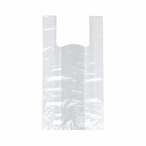 250 Hemdchen-Tragetaschen, HDPE 48 cm x 22 cm x 12 cm transparent Knotenbeutel