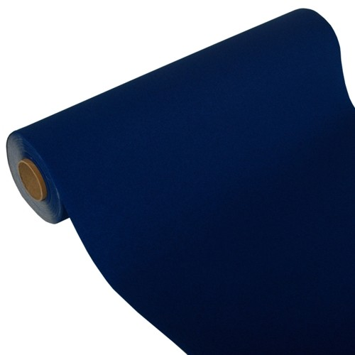 """Tischläufer, Tissue """"ROYAL Collection"""" 24 m x 40 cm dunkelblau"""