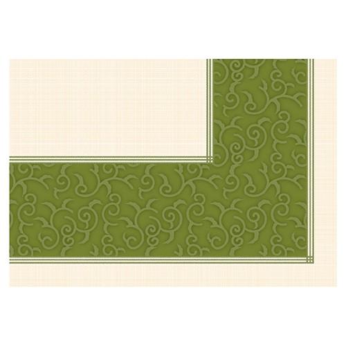 """20 Mitteldecken, stoffähnlich, Vlies """"soft selection plus"""" 80 cm x 80 cm olivgrün """"Casali"""""""