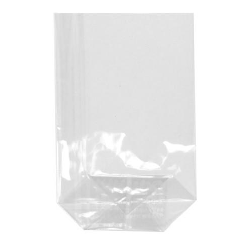 300 Bodenbeutel, PP 17,3 cm x 11,5 cm x 4 cm transparent