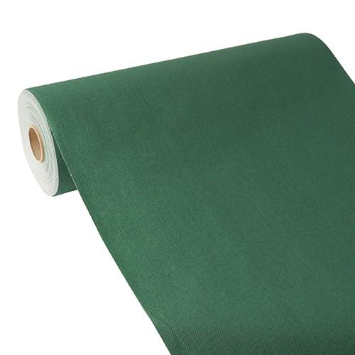"""Tischläufer, stoffähnlich, PV-Tissue Mix """"ROYAL Collection"""" 24 m x 40 cm dunkelgrün"""