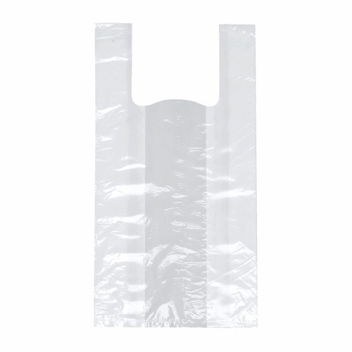 200 Hemdchen-Tragetaschen, LDPE 60 cm x 30 cm x 18 cm weiss