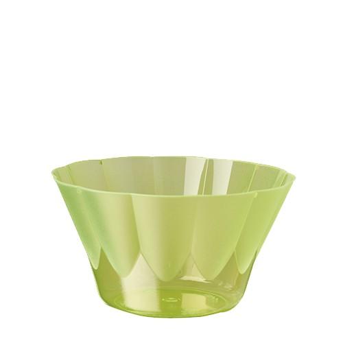 66 Eis- und Dessertschalen, PS rund 300 ml Ø 11 cm · 6,5 cm grün