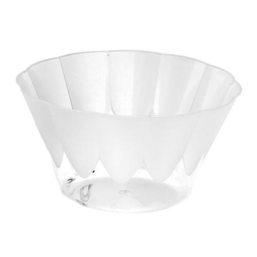 10 Eis- und Dessertschalen rund 400 ml Ø 12 cm · 7 cm glasklar