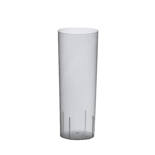 10 Gläser für Longdrinks, PP 0,3 l Ø 5,85 cm · 15,2 cm transluzent unzerbrechlich