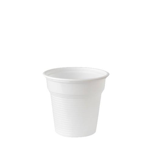 50 Trinkbecher, PS 0,08 l Ø 5,75 cm · 5,3 cm weiss