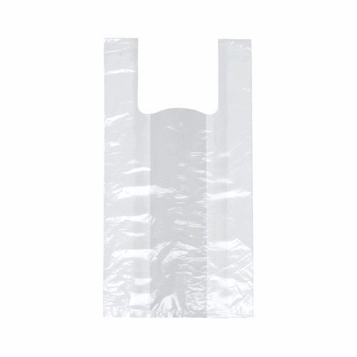 200 Hemdchen-Tragetaschen, LDPE 50 cm x 26 cm x 16 cm weiss