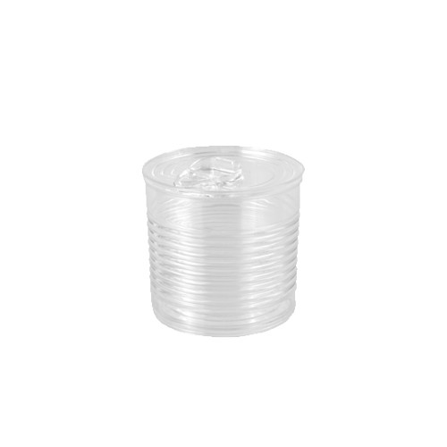 "12 Fingerfood - Becher, PS 110 ml Ø 6,07 cm · 5,95 cm transparent ""Tin can"""