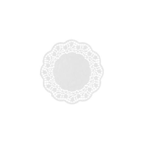 250 Teller- und Tassendeckchen rund Ø 12 cm weiss