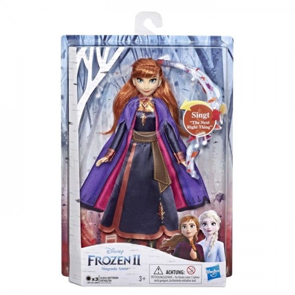 Hasbro E6853GC0 Disney Die Eiskönigin 2 Singende Anna