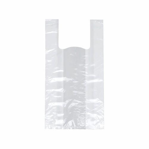 200 Hemdchen-Tragetaschen, HDPE 42 cm x 21 cm x 13 cm weiss