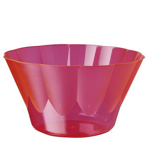54 Eis- und Dessertschalen, PS rund 400 ml Ø 12 cm · 7 cm pink