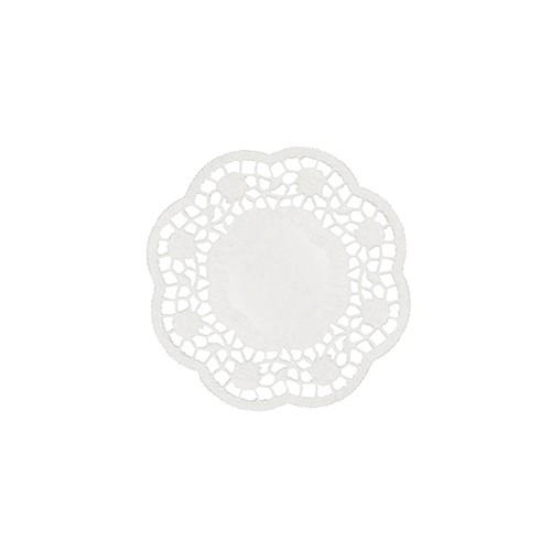 1000 Teller- und Tassendeckchen rund Ø 10 cm weiss