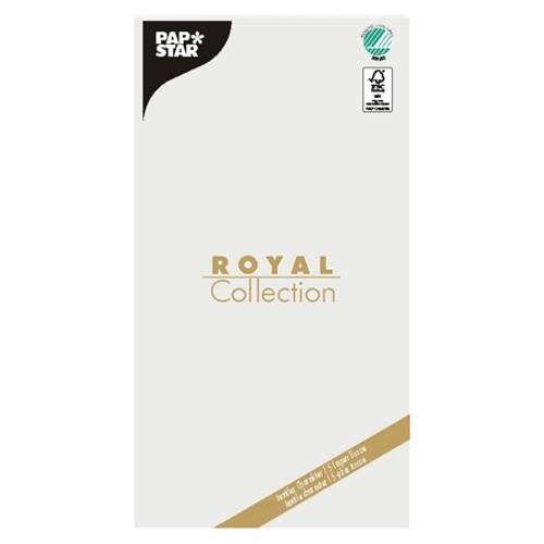 """Tischdecke, Tissue """"ROYAL Collection"""" 120 cm x 180 cm weiss"""