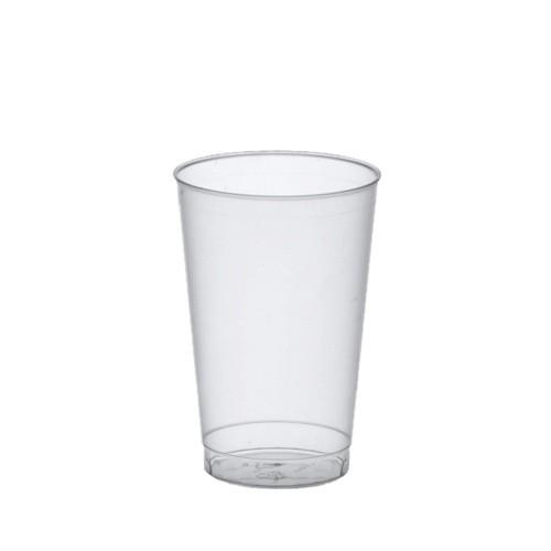 25 Trinkbecher, PP 0,3 l Ø 7,8 cm · 11,8 cm transluzent unzerbrechlich