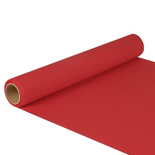 """Tischläufer, Tissue """"ROYAL Collection"""" 5 m x 40 cm rot"""