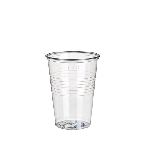 80 Trinkbecher, PS 0,25 l Ø 7,8 cm · 11 cm klar