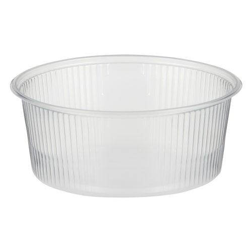 100 Verpackungsbecher, PP rund 200 ml Ø 10,1 cm · 4,3 cm transparent