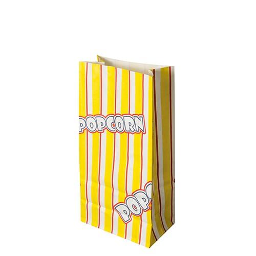 "100 Popcorn Tüten, Pergament-Ersatz 1,3 l 20,5 cm x 10,5 cm x 6 cm ""Popcorn"" fettdicht"