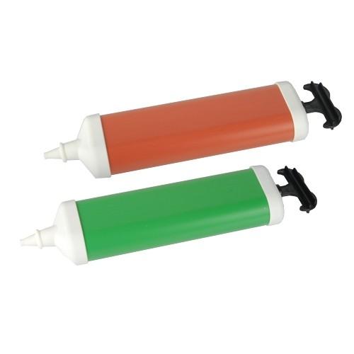Pumpe für Luftballons 26 cm x 6 cm farbig sortiert