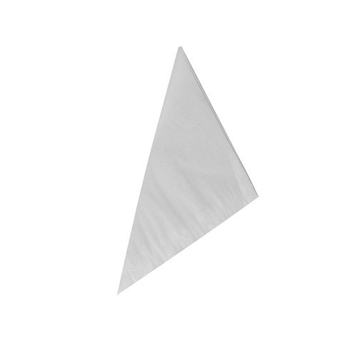 1000 Spitztüten, Pergament-Ersatz, gefädelt 19 cm x 19 cm x 27 cm weiss Füllinhalt 125 g, fettdicht