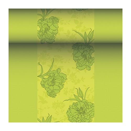 """Tischläufer, stoffähnlich, PV-Tissue Mix """"ROYAL Collection"""" 24 m x 40 cm grün """"Thalia"""""""