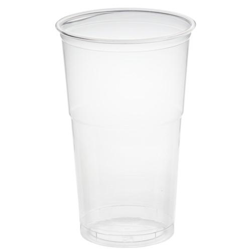 "50 Trinkbecher ""Hurricane"", PET 0,5 l Ø 9,5 cm · 14,9 cm glasklar"