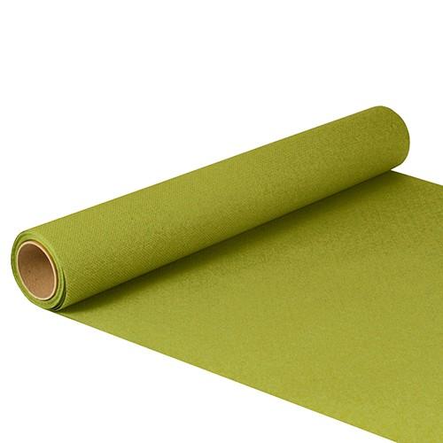 """Tischläufer, Tissue """"ROYAL Collection"""" 5 m x 40 cm olivgrün"""