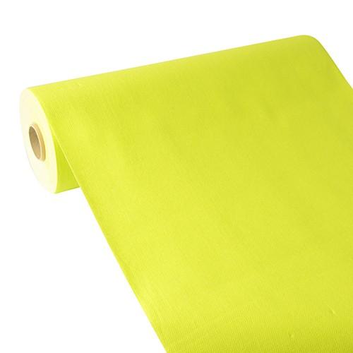 """Tischläufer, stoffähnlich, PV-Tissue Mix """"ROYAL Collection"""" 24 m x 40 cm limonengrün"""