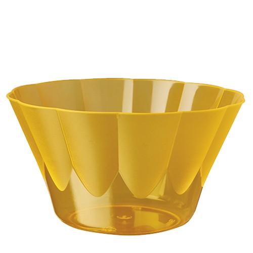 50 Eis- und Dessertschalen, PS rund 500 ml Ø 13 cm · 7,5 cm orange
