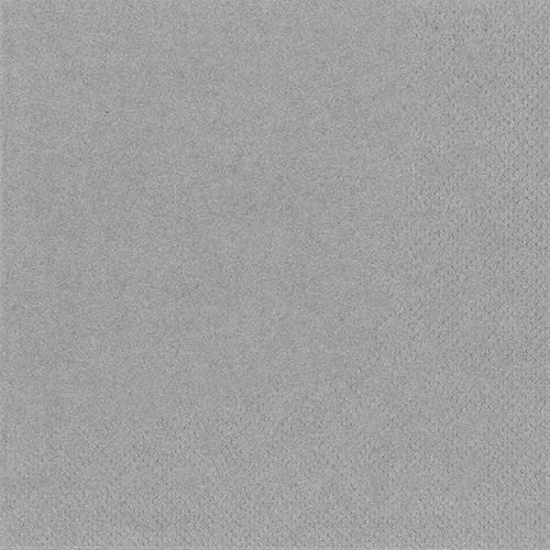 250 Servietten, 3-lagig 1/4-Falz 24 cm x 24 cm grau