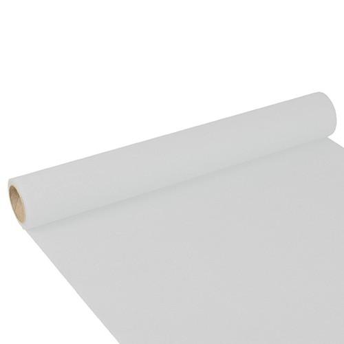 """Tischläufer, Tissue """"ROYAL Collection"""" 3 m x 40 cm weiss"""