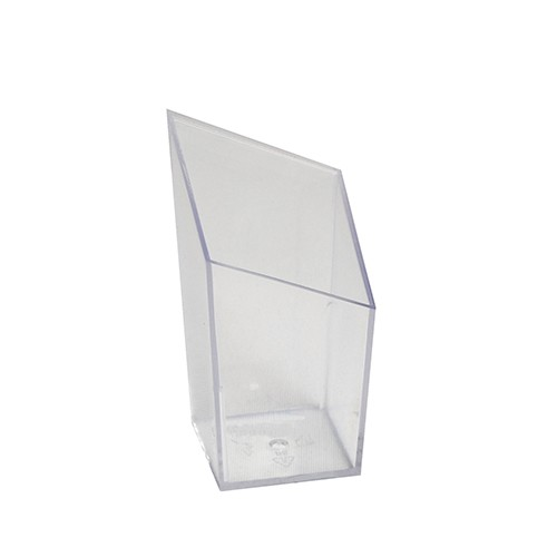 "20 Fingerfood - Becher, PS eckig 50 ml 7,9 cm x 4,2 cm x 4,2 cm glasklar ""Diamond"""