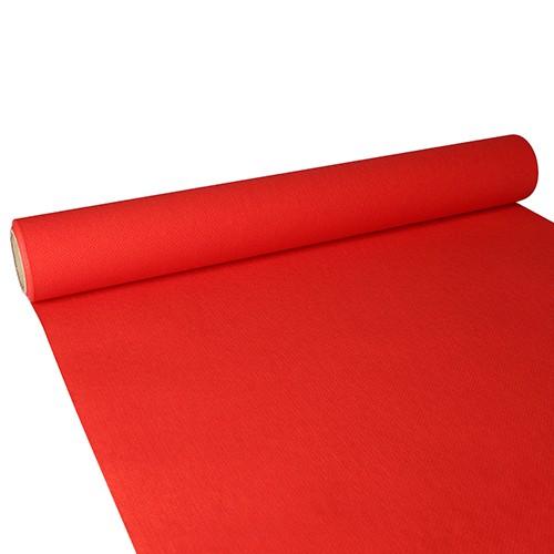 """Tischläufer, Tissue """"ROYAL Collection"""" 3 m x 40 cm rot"""