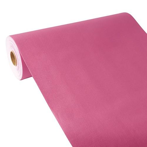 """Tischläufer, stoffähnlich, PV-Tissue Mix """"ROYAL Collection"""" 24 m x 40 cm fuchsia"""