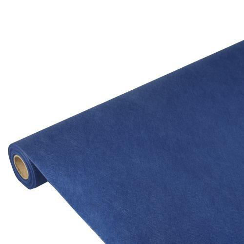 """Tischdecke, stoffähnlich, Vlies """"soft selection"""" 10 m x 1,18 m dunkelblau"""