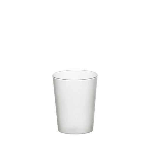 40 Gläser für Schnaps, PP 4 cl Ø 4,2 cm · 5,2 cm satiniert, unzerbrechlich