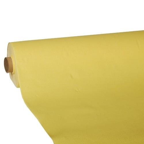 """Tischdecke, Tissue """"ROYAL Collection"""" 25 m x 1,18 m gelb"""