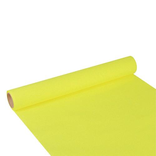 """Tischläufer, Tissue """"ROYAL Collection"""" 3 m x 40 cm limonengrün"""