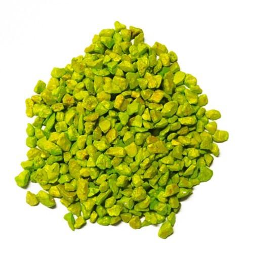 Deko - Granulat 500 ml apfelgrün 2 - 3 mm
