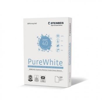 Multifunktions-Papier Steinbeis PureWhite, A4, 80 g/m², weiß, 500 Blatt