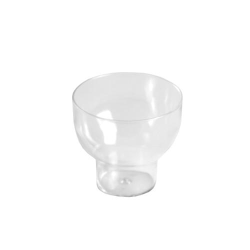 24 Fingerfood - Becher, PS rund 50 ml Ø 5,5 cm · 5 cm glasklar