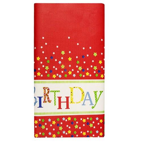 """Tischdecke, Papier 120 cm x 180 cm """"Happy Birthday"""""""